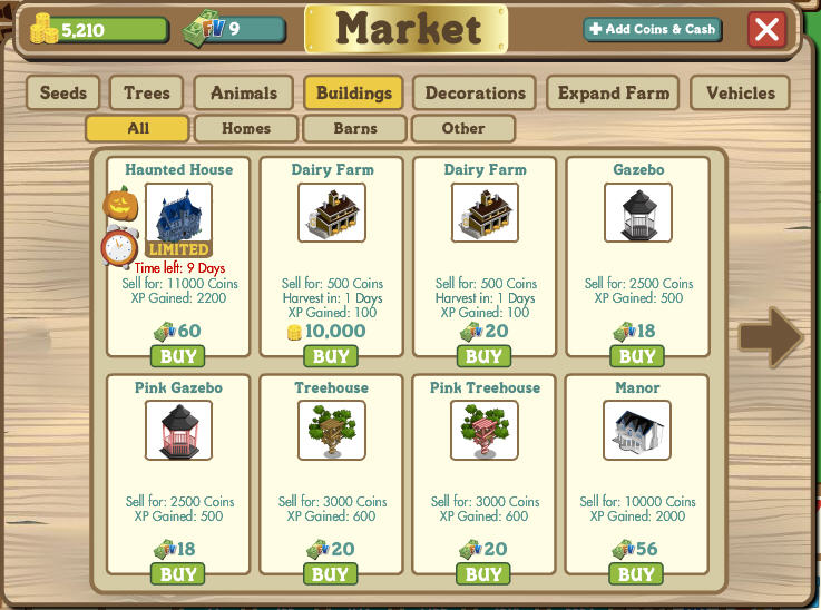 Farmville dairy farms: it's how to milk 20 cows at once.