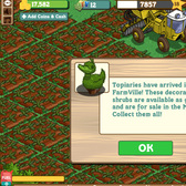 FarmVille Cheats & Tips: Quick Guide to Topiaries