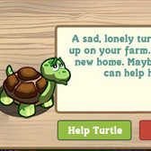 Sad, Lonely Turtles Invade FarmVille