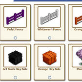 FarmVille Fences Now Come in Orange and Violet