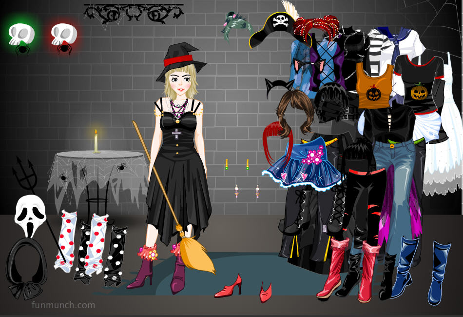 Young Party Wear Dress Up Game 70
