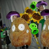 Plants vs Zombies Halloween Parade Costumes Unveiled!
