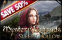 Half off Halloween Games - Mystery Legends Sleepy Hallow