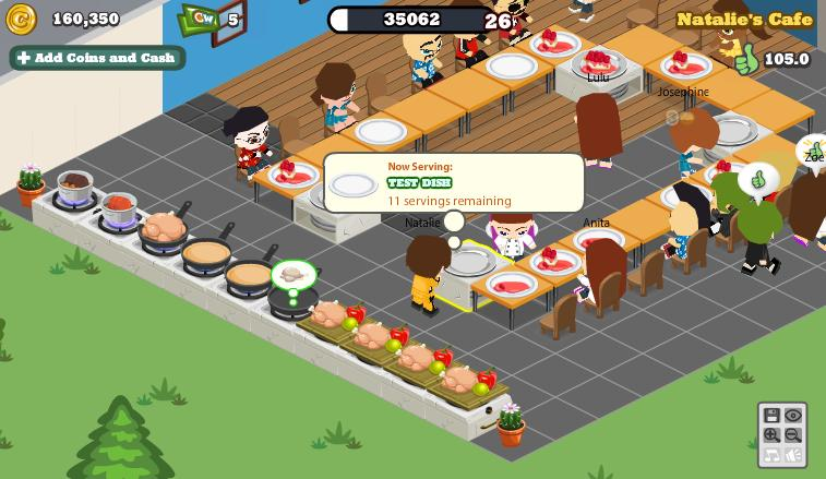 Cafe World Test Dishes mystify players