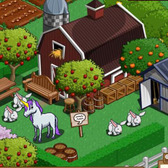Sad, Loney Unicorns and Dinosaurs Wander into FarmVille