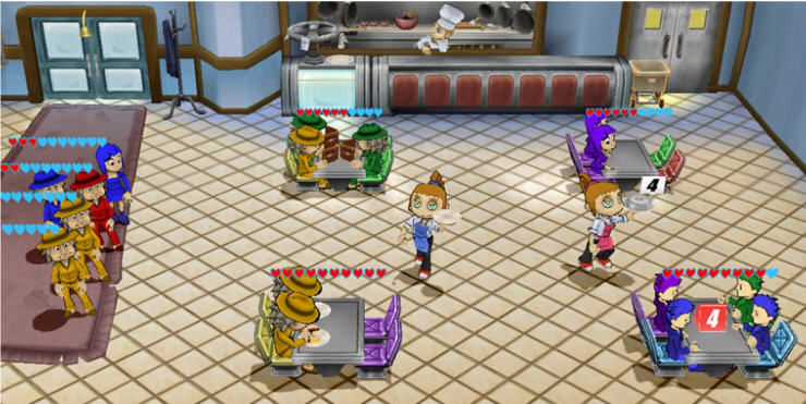 diner dash comes to xbox live -- with multiplayer!