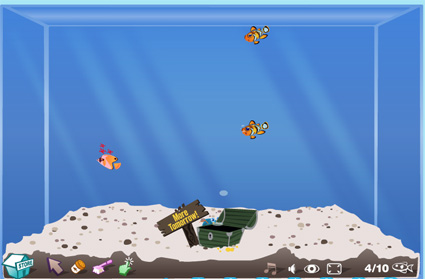 Beautiful fish in the world fish aquarium game for Fish tank game