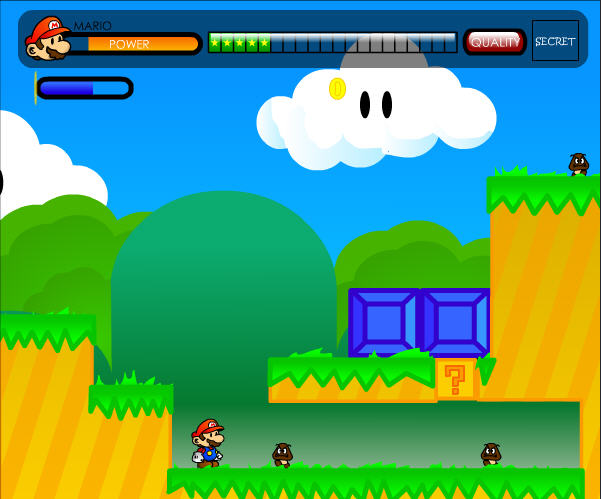 2 player super mario games for free