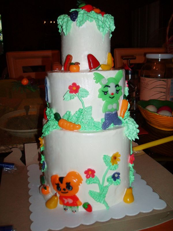 Pet society cake