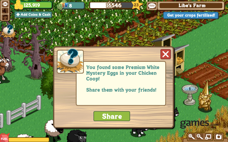 farmville mystery eggs