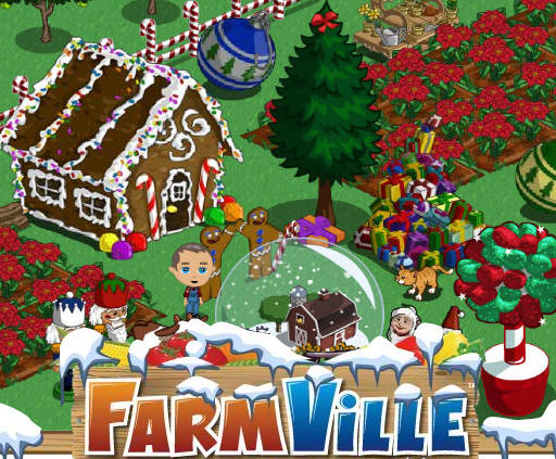 farmville christmas songs? what will they think of next