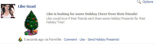 farmville holiday cheer