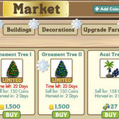 FarmVille holiday tree replacement now available