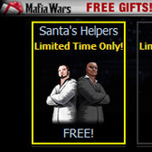 Mafia Wars brings holiday gifts to your hoodlums