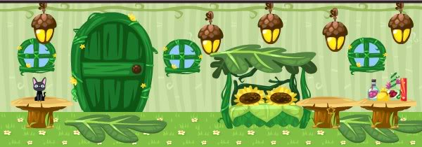 Pet society faerie furniture and decorations