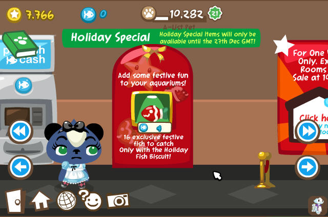 pet society holiday fish biscuits