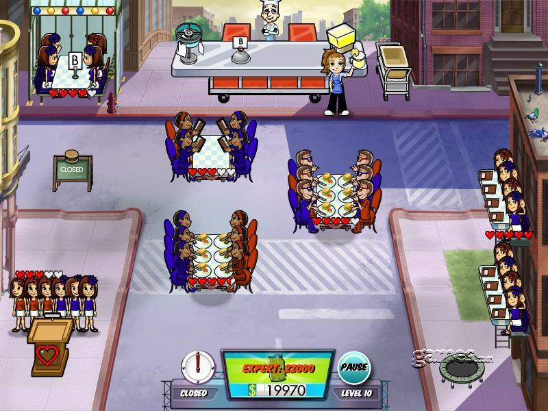 diner dash 5 boom! on games.com