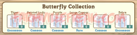farmville butterfly collection