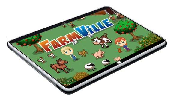 Will the new Apple tablet support FarmVille and other Facebook games?