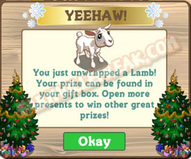farmville baby lamb unwrapped