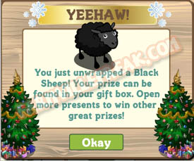 farmville black sheep unwrapped