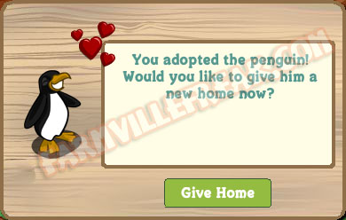 farmville freak adoption notice