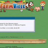 FarmVille multiple chicken coop cheat banned!