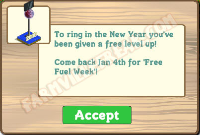 farmville freak level up notice
