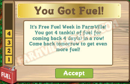 farmville free fuel week 4 tanks of fuel