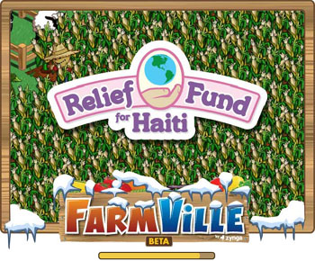 farmville relief fun for haiting loading screen