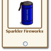 Giftable fireworks renamed to sparkler, twirling and starburst