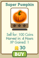 farmville super pumpkin event extension
