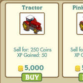 FarmVille reduces price of tractors by 50%