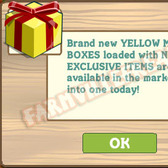 FarmVille Releases New Yellow & Red Mystery Box