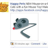 Happy Pets: New Pet Toys -- Mouse toys and dog treats
