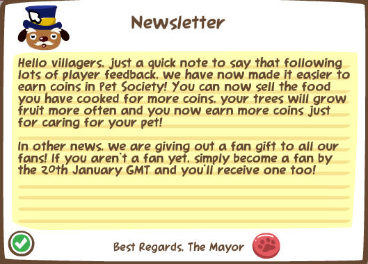 pet society earn more coins