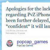 Plants vs. Zombies for iPhone -- delayed!