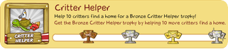 Tiki Farm Trophy 11 - Critter Helper
