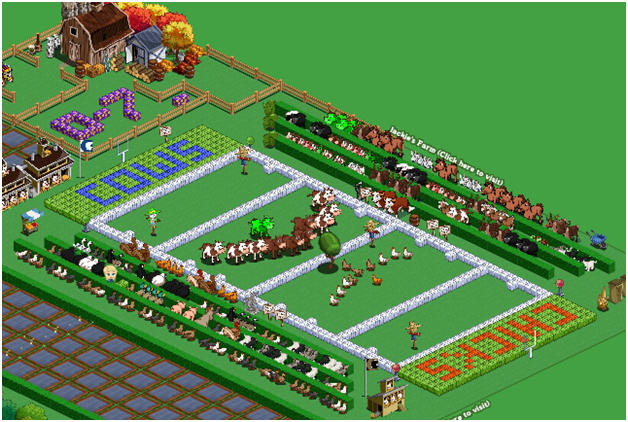 farmville farms pay homage to super bowl