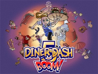 diner dash 5 boom now with facebook connect