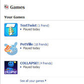 File this under 'duh:' Facebook App Center inspires more game playing