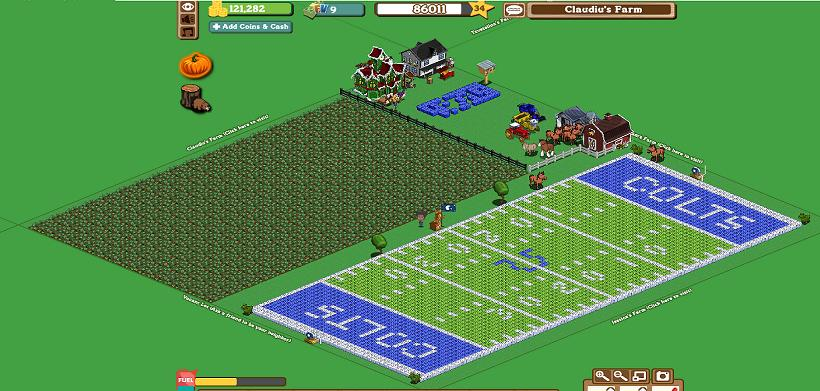 FarmVille Freak Claudiu's Colt's Stadium