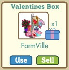 FarmVille Valentines Day Mail Box Gift