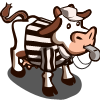 farmville referee cow up for adoption in FarmVille