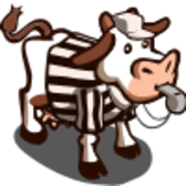 FarmVille celebrates Super Bowl with adoptable referee cow