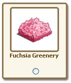 farmville fuchsia greenery