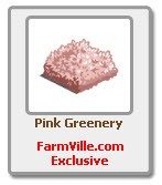 farmville pink greenery