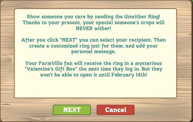 farmville unwither ring -- more details