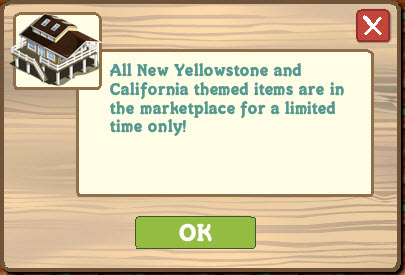 Farmville california theme notice