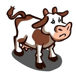 farmville free no more? sad cow hopes not